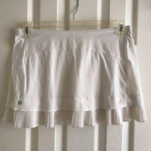 Lululemon White Skirt size 8